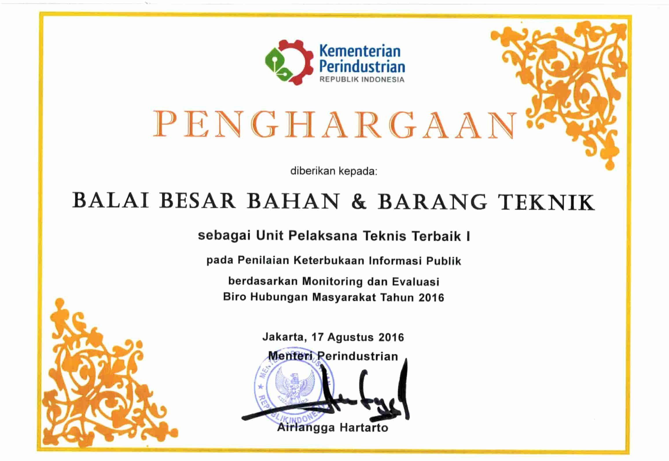 Penghargaan PPID