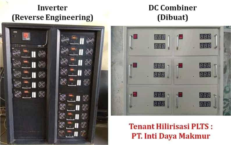 Diversifikasi Energi - Komponen PLTS